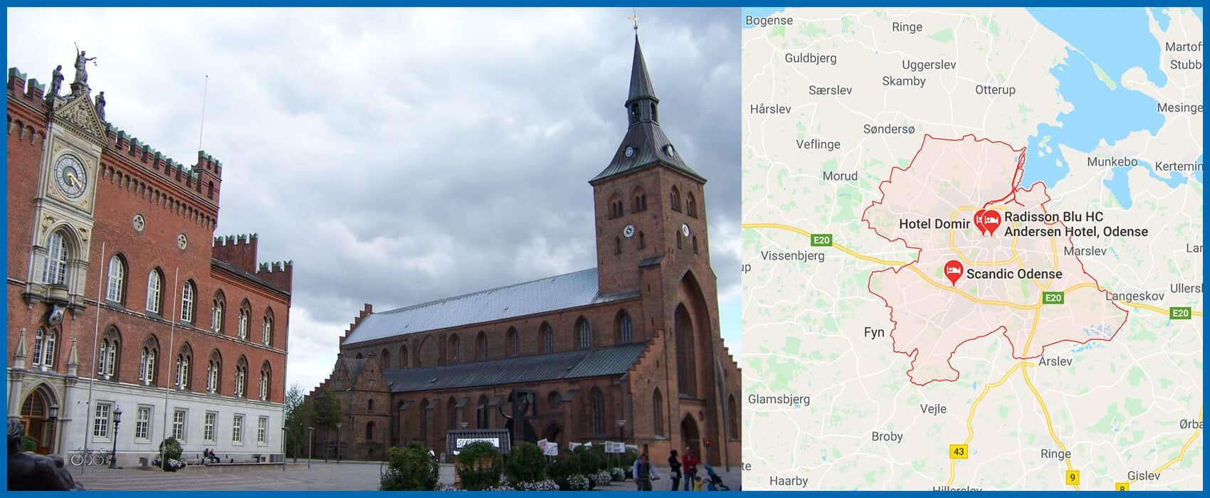Odense by - få tilbud på altan