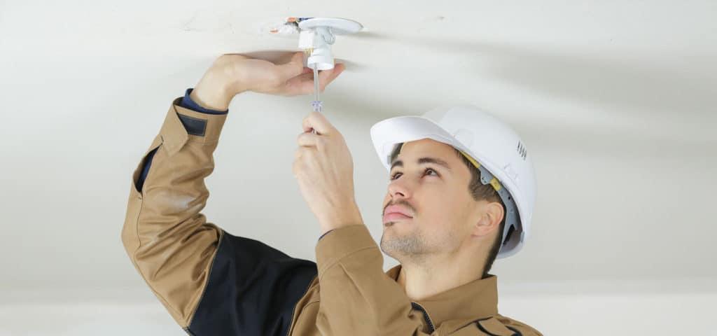 El-installationer på altanen